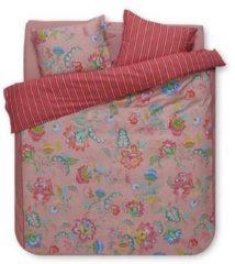 Pip Studio Jambo Flower Dekbedovertrek - 2-persoons (200x200/220 Cm + 2 Slopen) - Percal Katoen - Pink