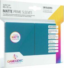 Blauwe Gamegenic Matte Prime Sleeves Blue (100)