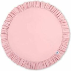 My Sweet Baby Speelkleed Ruches Pastel Roze - Speelmat - Kinderkamer - Vloerkleed 100 cm