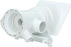 Whirlpool Flusensiebeinsatz kpl. (gerade) für Waschmaschinen 481248058105