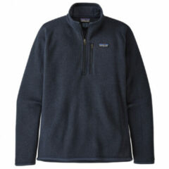 Patagonia - Better Sweater 1/4 Zip - Fleecetrui maat XL, zwart