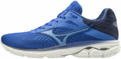 Blauwe Mizuno Wave Rider 23 hardloopschoenen voor dames - Hardloopschoenen