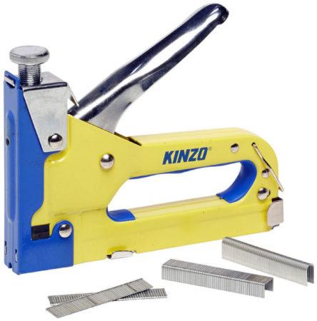 Afbeelding van Kinzo Nietmachine Handtacker Incl. 1000 nietjes - Incl. 500 spijkers