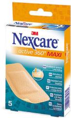 3M Nexcare™ Active 360° pleisters, 5 pleisters, 50 mm x 101 mm, N1005NSD