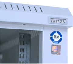 TRITON Delta S - Schrank - RAL 7035 - 42U - 48.3 cm (19'') RMA-42-A61-CAX-A1