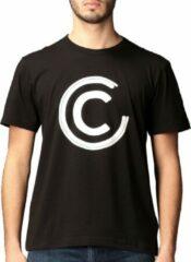 Colmar Colmar Shirt T-shirt - Mannen - zwart - wit