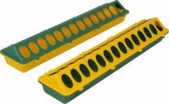 Olba Kuikenvoerbak langwerpig - vogel - geel/groen - 50 cm