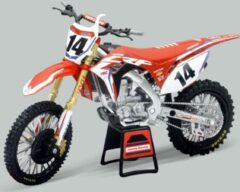 New-Ray Cole Seely Honda CRF450 Replica Mini Crossmotor 1/12 Schaalmodel