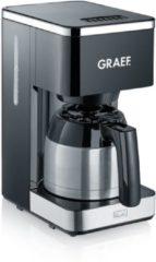 Zwarte Graef FK 412 koffiezetapparaat Filterkoffiezetapparaat 1 l Half automatisch