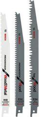 Bosch, Black & Decker, DeWALT, Makita, Metabo, Skil Bosch 3-Stück Sägeblätter 2609256797
