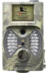 Braun Germany Scouting Cam Wildcamera 12 Mpix Black LEDs, Afstandsbediening Camouflage