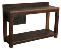 Raw Materials Factory Werkbank - Wandtafel - 150x50x90 cm - Gerecycled hout