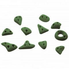 KMZ Holds - Spax 2 - Klimgrepenset 11 st. olijfgroen