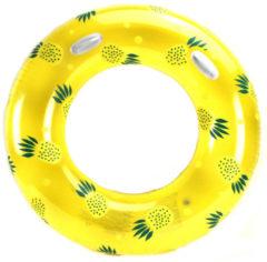 Gele ALERT Zwemring Ananas - 119 Cm