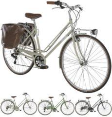 28 Zoll Damen City Fahrrad 6 Gang Alpina Rondine Alpina lachs