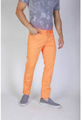 Oranje Broeken / Pantalons Jaggy Broek