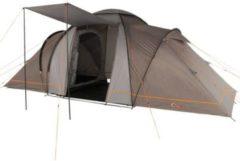 Portal Camping-Zelt Beta 6 Vis-A-Vis Tunnelzelt mit Schlafkabinen für 6 Personen Outdoor Familienzelt mit Wohnraum, wasserdicht mit 4000mm Wassersäule