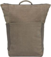 Salzen Vertiplorer Plain Backpack Leather weims taupe