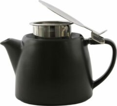 Point-Virgule - Theepot met thee infuser - Mat zwart - 500ml