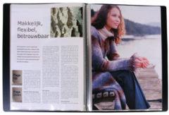 Kangaro K-3030-0 Showalbum A4 PP 30 Tassen Zwart