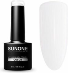 SUNONE UV/LED Hybrid Gel Witte Nagellak 5ml. - B02 Baby