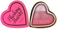 Roze Makeup Revolution Blushing Hearts Blusher Bursting with Love