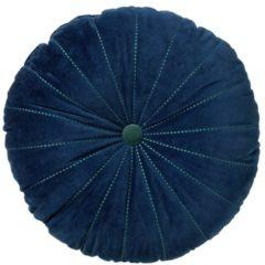 Blauwe Dutch Decor Sierkussen Maan 50 cm Insignia Blue