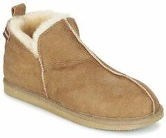 Shepherd Annie dames pantoffel - Cognac - Maat 41