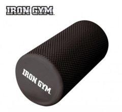 Zwarte Orangeplanet Iron Gym Pro massage Roller 30 cm Foam roller - Masseer je spieren - Sneller herstellen - Minder spierpijn