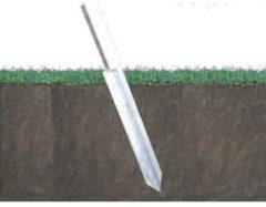 Antraciet-grijze Nesling - Paalzender