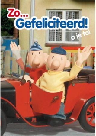 Afbeelding van Buurman en Buurman Buurman en Wenskaart: Zo...gefeliciteerd!