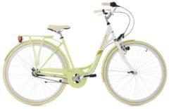 Damenfahrrad Cityrad Belluno 7 Gänge 28 Zoll KS Cycling hellgrün