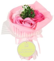 Jeanne en Provence Badeblüte-Rosenstrauß rosa