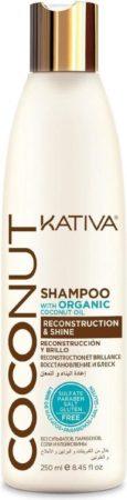 Afbeelding van KATIVA Coconut Shampoo 250 ml