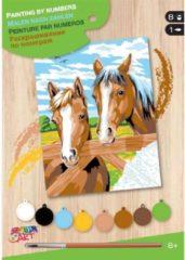 Sequin Art Schilderen op Nummer Paarden