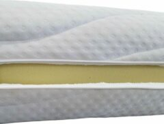 Witte Bed4less Matrashoes Basic Met Rits - Anti Allergie - 180x200 - Dikte 20cm