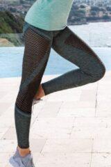 Purple-Daisy Sport legging Joy Groen