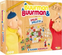 Just Games Buurman en Buurman 3-in-1 spel kinderspel