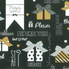 Verhaak Cadeaupapier Sinterklaas 300 X 100 Cm Zwart 1 Rol
