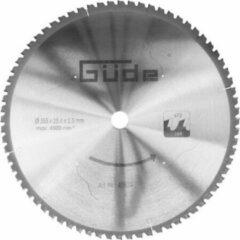 Gude Güde 355 x 25.4 MM | 72 TANDEN voor staal