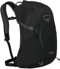 Zwarte Osprey Hikelite 18 Backpack black Rugzak