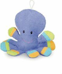 Paarse Egmont Toys Babywashandje Inktvis