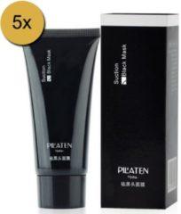 Pilaten Pil'aten suction black mask, het masker om eenvoudig van uw mee-eters af te komen! - 5 tubes