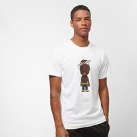 Urban Classics Heren Tshirt -L- LA Sketch Wit