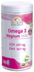 Be-life Omega 3 Magnum 1400 (140ca)