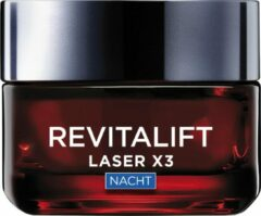 L'Oréal Paris L'Oreal Paris Revitalift Laser X3 anti-rimpel nachtcrème – 50 ml
