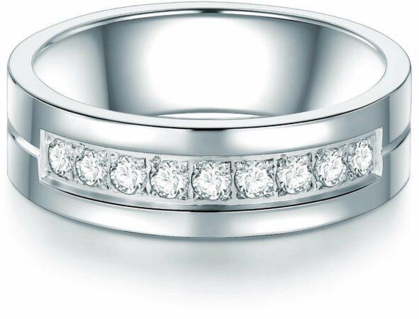 Afbeelding van Zilveren Tresor 1934 Tresor 1934 Trouwring Verlovingsringen Solitaire Ring