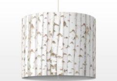 PPS. Imaging Pendelleuchte - No.YK15 Birkenwand - Lampe - Lampenschirm Weiß