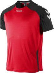Hummel Aarhus Shirt Sportshirt Kinderen - Rood;Zwart;Wit