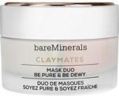 BareMinerals Gesichtspflege Feuchtigkeitspflege Claymates Mask Duo Be Pure & Be Dewy 1 Stk.